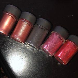 Lot of 5 MAC pigments